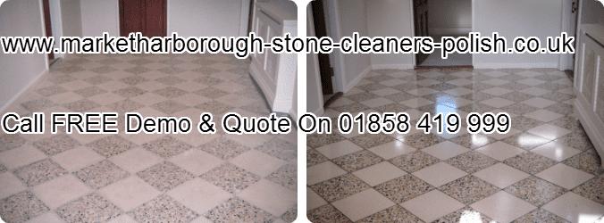 Terrazzo Stone Restoring & Sealing Market Harborough 01858419999