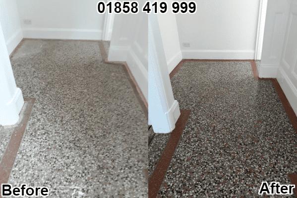 Terrazzo Stone Restoring Sealing Market Harborough 01858419999